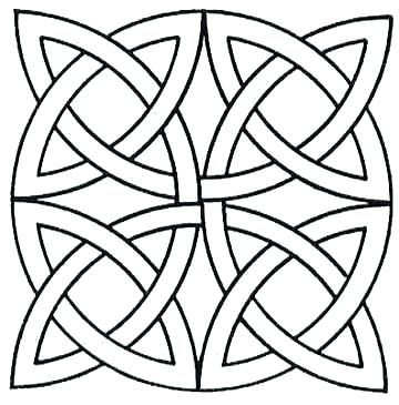 360x365 Geometric Coloring Page Free Geometric Coloring Pages Geometric