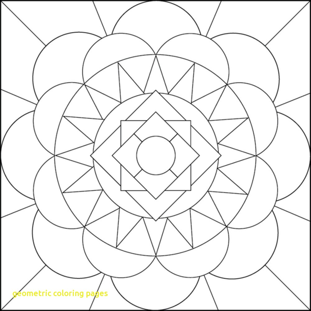 1000x1000 Geometric Coloring Pages With Geometric Coloring Pages Lines