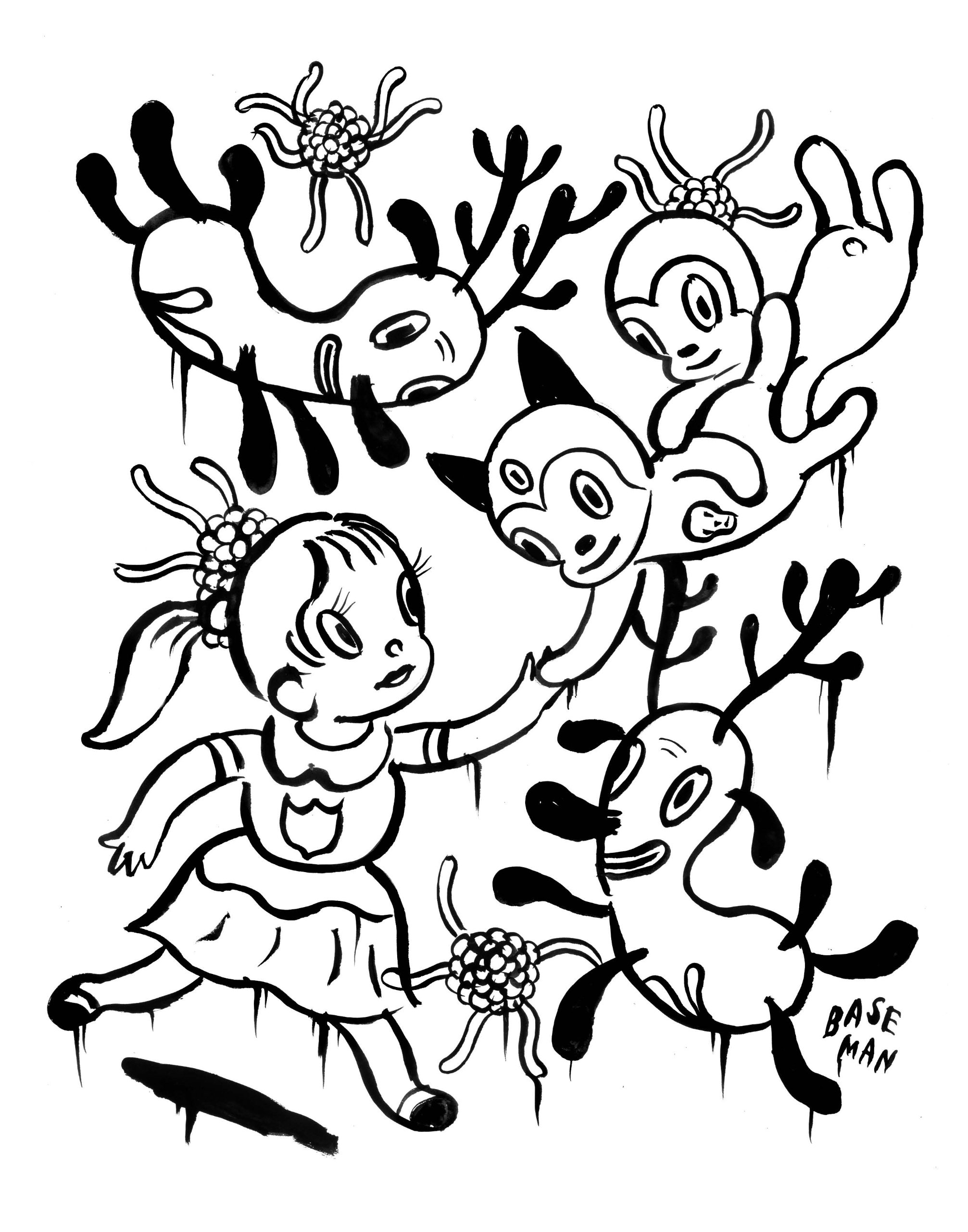 2013x2560 Outside The Lines An Artists' Coloring Book For Giant