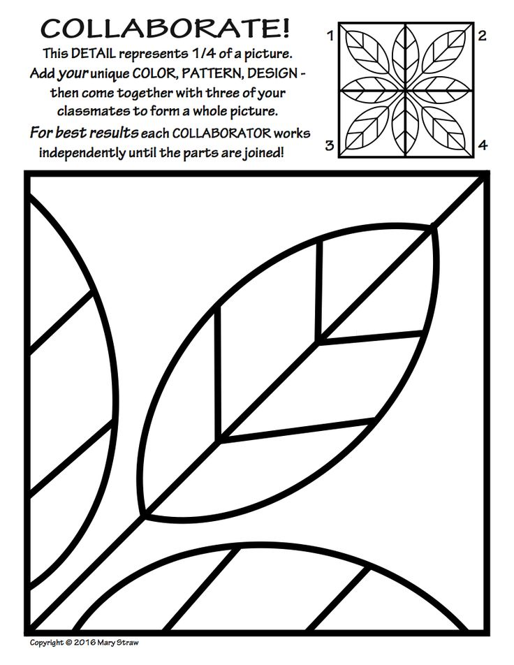 736x952 Adding Lines To Coloring Page Line Art Lesson