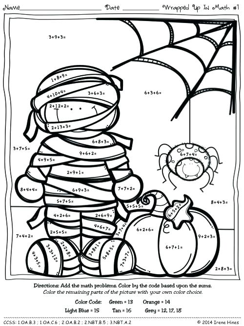 500x667 Math Addition Coloring Pages Sanoramainfo Math Addition Coloring