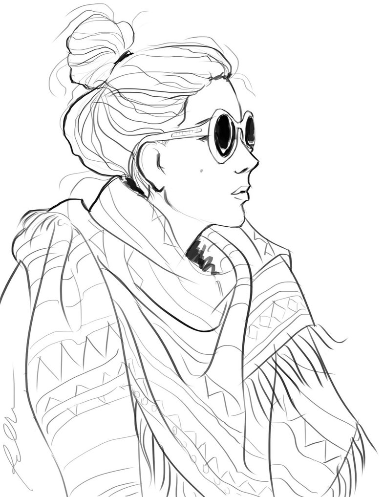 786x1017 Coloring Pages Of People Realistic Collection