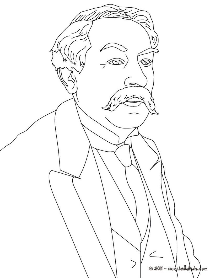 820x1060 Famous People Coloring Pages