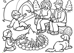 250x180 People Coloring Pages Printables