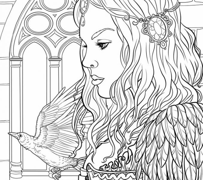 678x600 Coloring Pages Of People Coloring Page