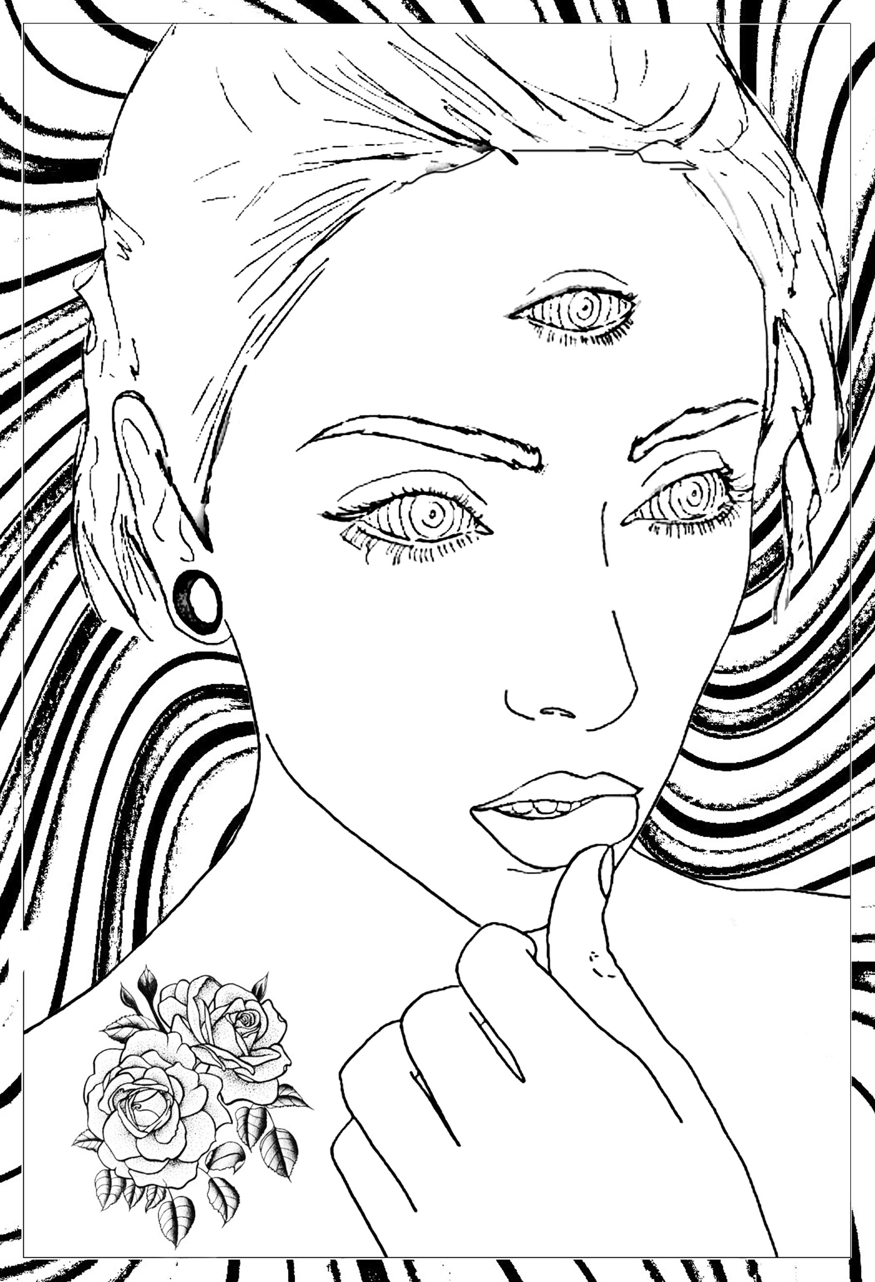 1800x2638 Free Coloring Pages For Adults