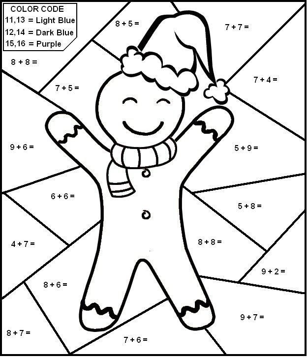 624x728 Printable Math Coloring Sheets Printable