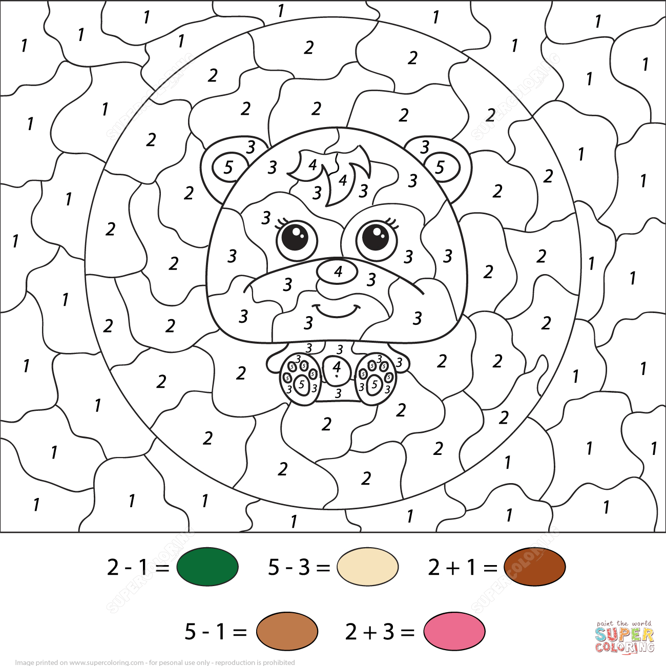 1300x1300 Color Number Worksheets Coloring Pages Free Coloring Pages Photo