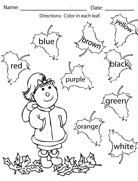 580x763 Fall Coloring Pages, Fall Activities For Kids