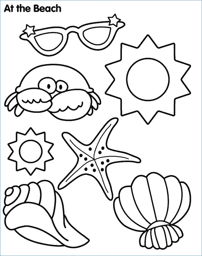 643x815 Summer Coloring Pages Activities