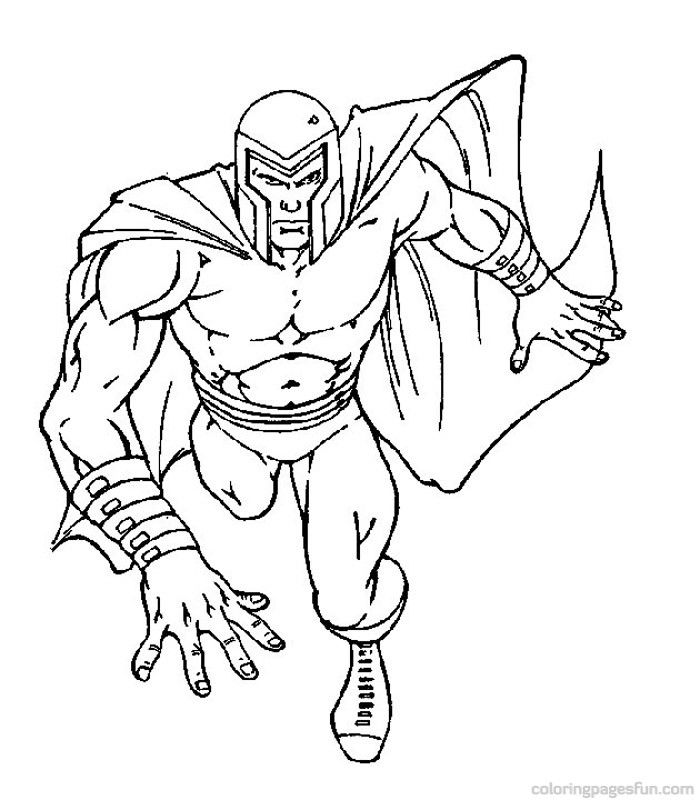 700x800 X Men Coloring Pages Coloring Pages For Free