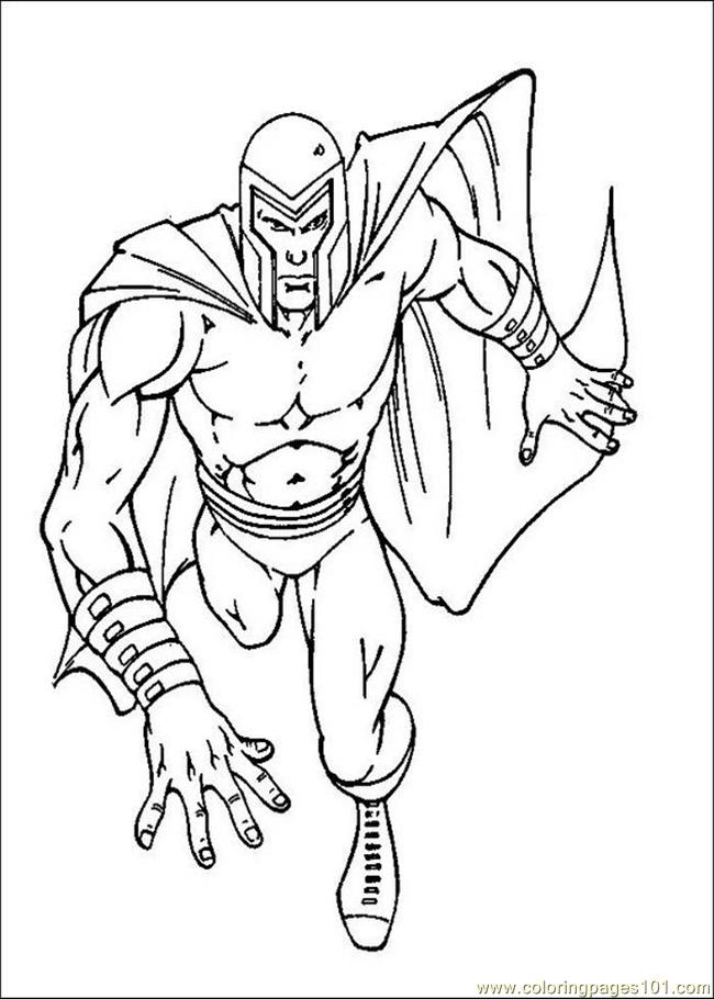 650x910 X Men Coloring Pages Coloring Page