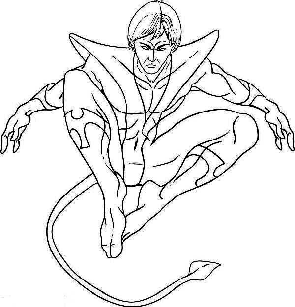 600x625 Best X Men Images On Coloring Pages, Coloring Books