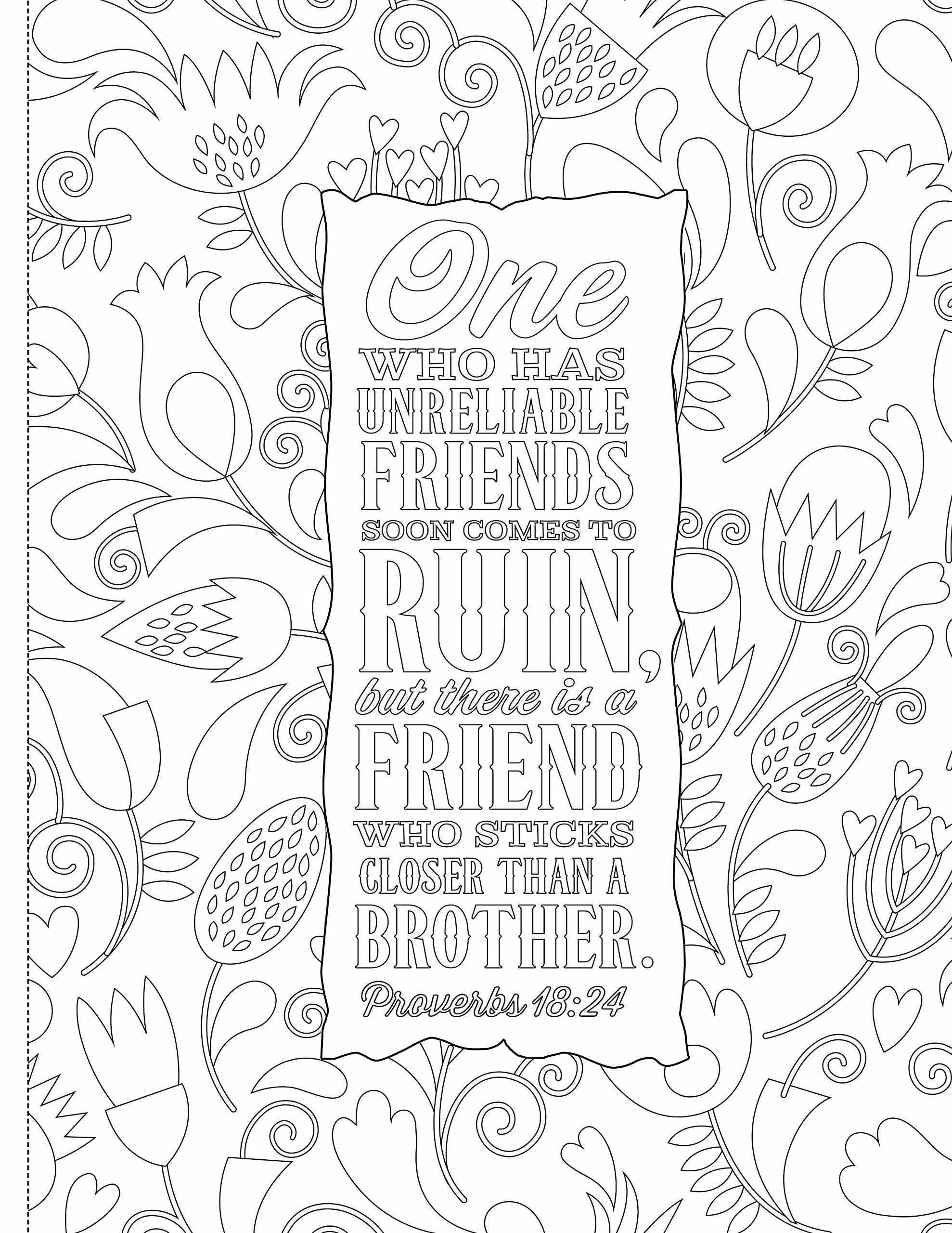 1978x2560 Inspiring Words Verses From The Bible You Can Color Zondervan