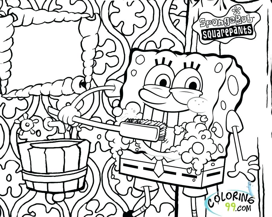 900x720 Spongebob Color Page Printable Coloring Pages Coloring Pages