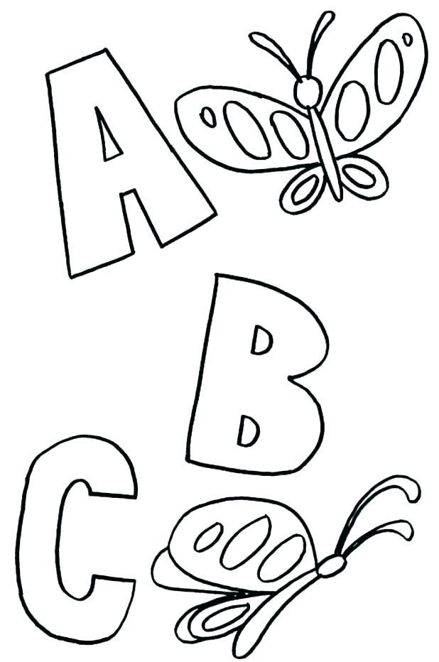 618x932 Alphabet Coloring Pages Preschool Alphabet Coloring Pages