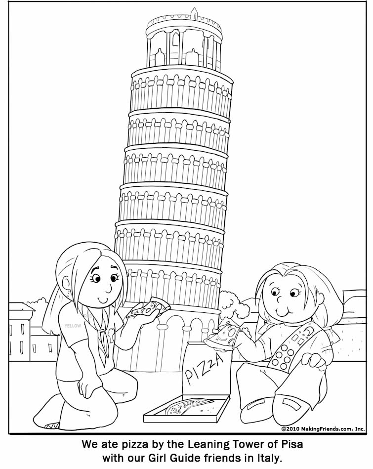 755x949 Italy Coloring Pages