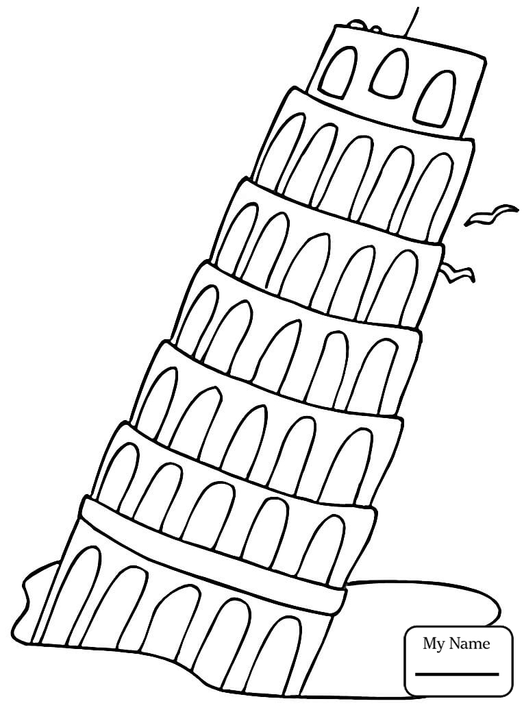 765x1036 Italy Coloring Pages