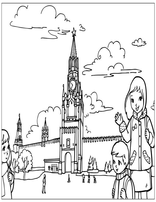 600x776 Places Of The World Coloring Pages Coloring Pages For Kids