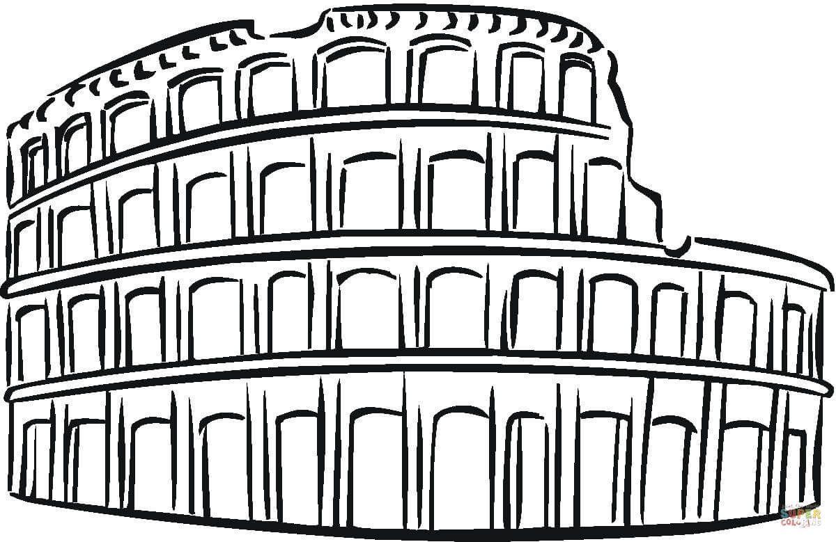 1200x779 Resultado De Imagen Para Coliseo Romano Dibujo Fede El Viajero