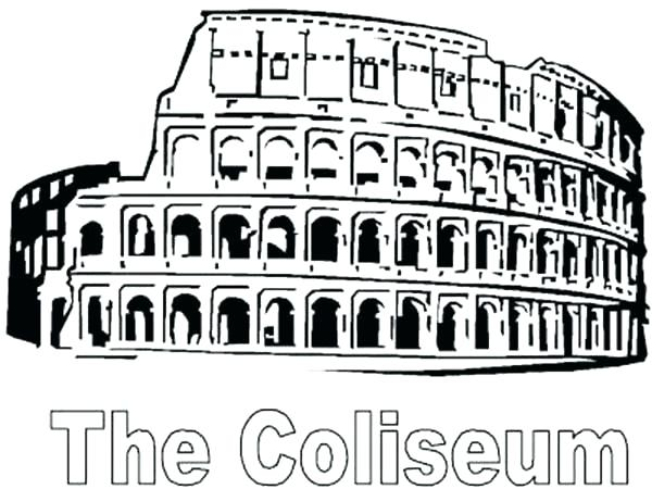 600x450 Roman Coloring Pages Roman Coloring Pages A Restored From Ancient