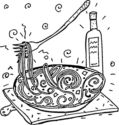 456x480 Top Italy Coloring Pages