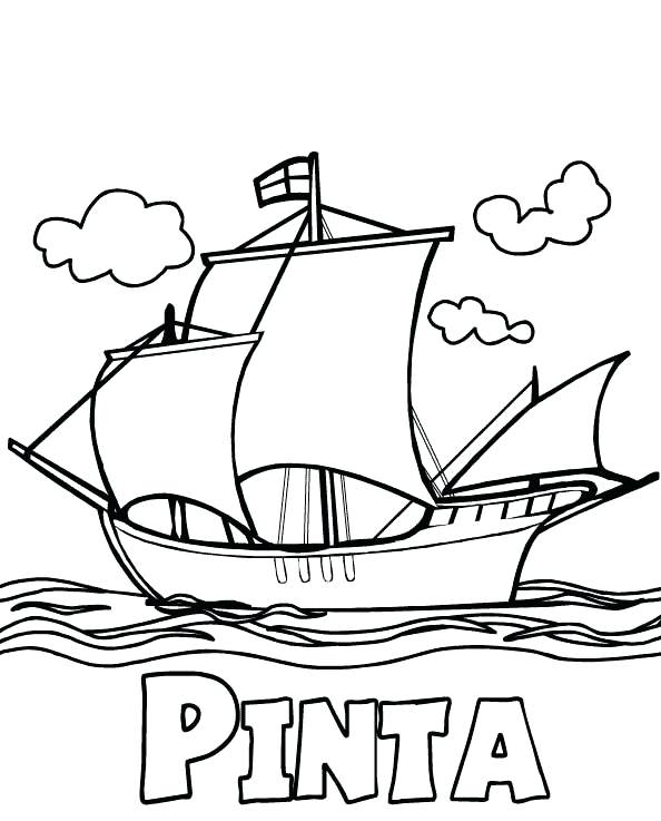 Columbus Day Coloring Pages Printable At Getdrawings Com