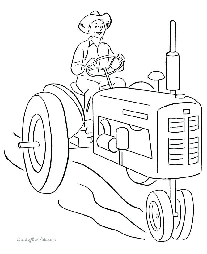 670x820 Lovely John Deere Combine Coloring Pages Or Drawn Tractor Coloring