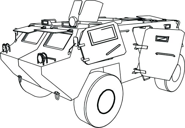 618x429 Combine Coloring Pages Armoured Car Tank Coloring Page Combine