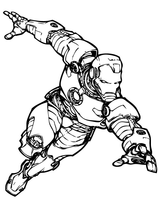 670x867 Comic Book Coloring Pages Inspirational Marvel Ics Iron Man