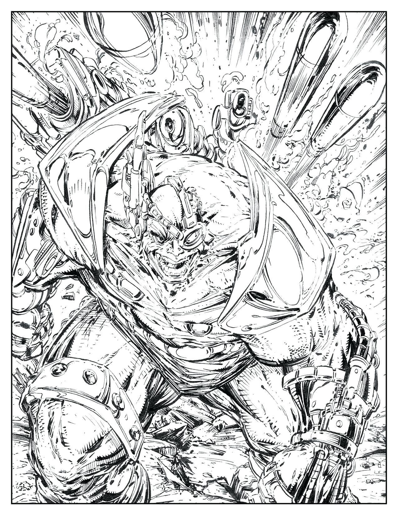 1275x1650 Comic Book Coloring Pages