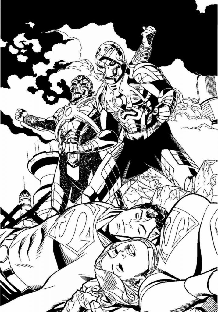 715x1024 Comic Book Coloring Pages