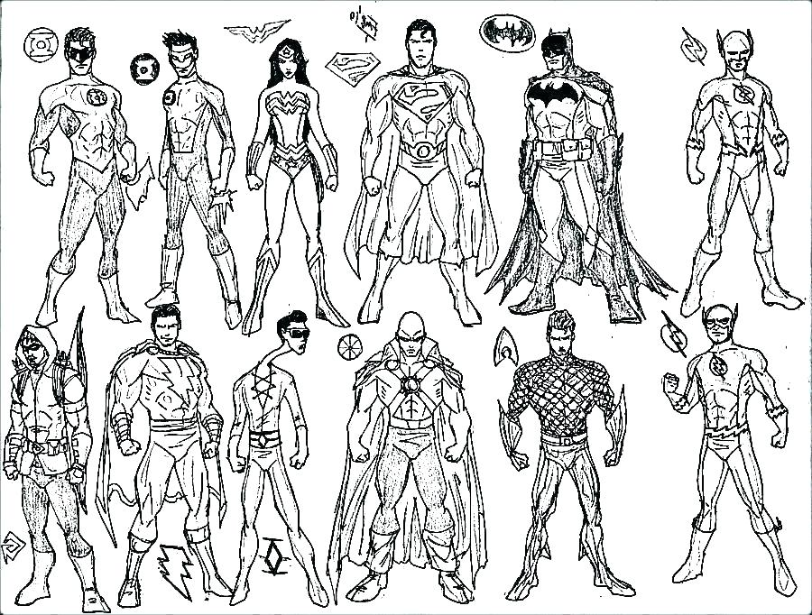 900x682 Comic Coloring Pages Breathtaking Dc Comic Coloring Pages Coloring