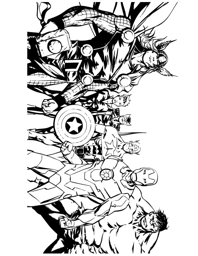 670x867 Comic Strip Coloring Pages Printable Coloring Pages