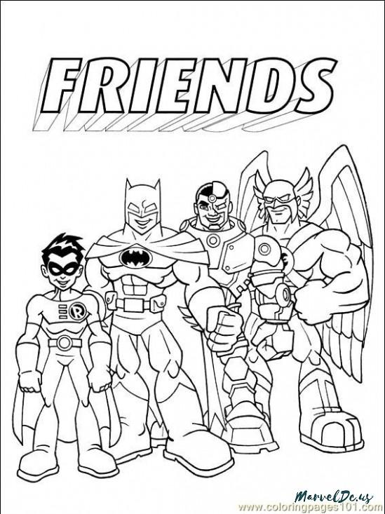549x733 Contemporary Comic Strip Coloring Pages Frieze