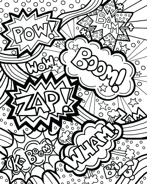 570x713 Printable Comic Book Pages Together With Comic Book Coloring Pages