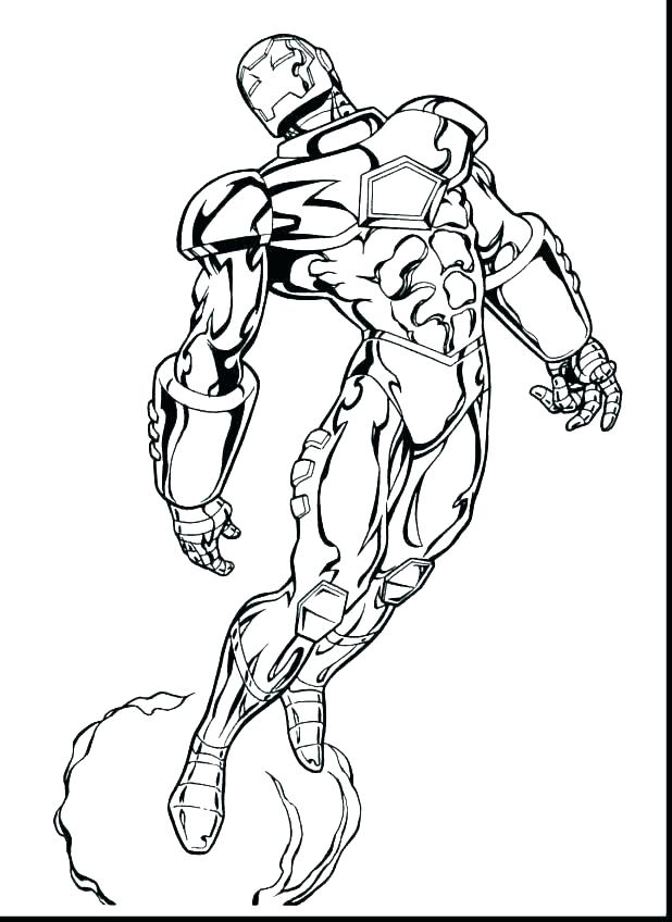 618x848 Comic Coloring Pages