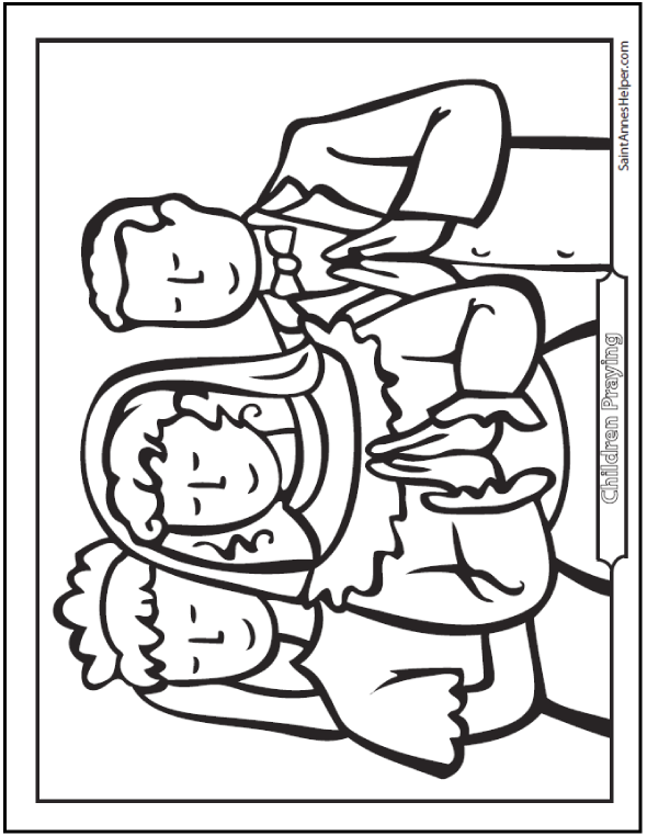 Communion Coloring Pages