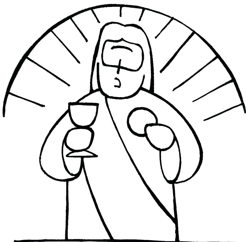 853x839 Eucharist Coloring Pages Coloring Pages First Communion Coloring