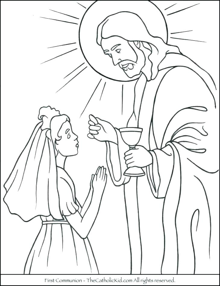 730x945 Terrific First Communion Coloring Pages Coloring Printouts