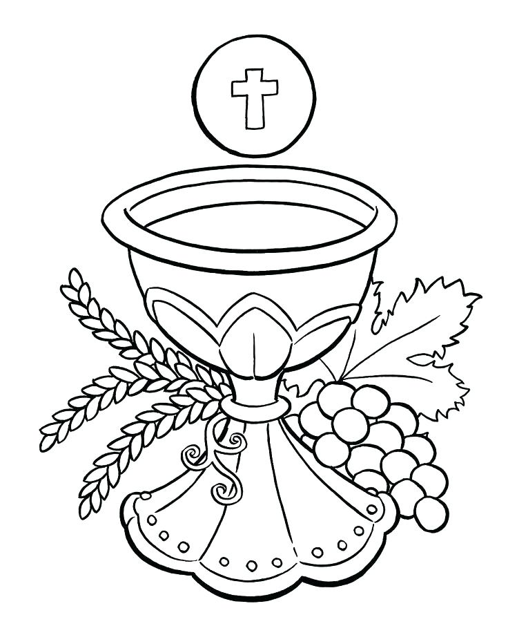 736x919 Eucharist Coloring Pages Coloring Pages Coloring Pages Catholic