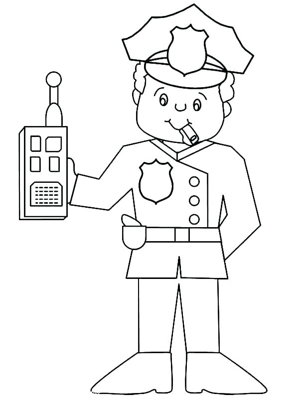 600x799 Community Coloring Page Community Helpers Coloring Page Postman My