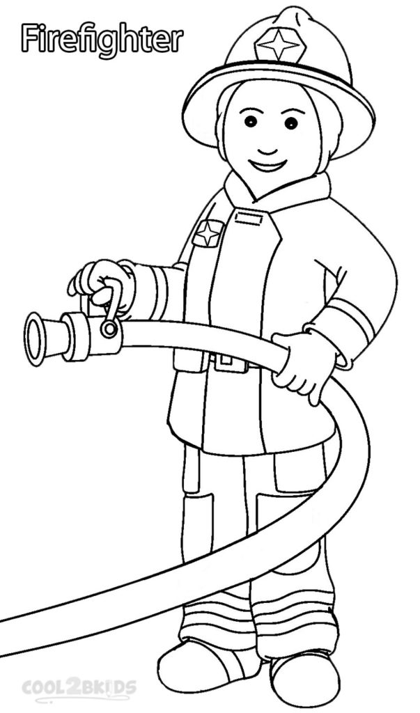 603x1024 Community Helpers Coloring Pages