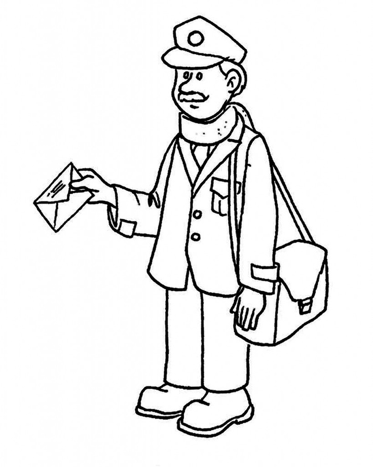 736x920 Community Helpers Colouring Pages Free Printable Community Helper