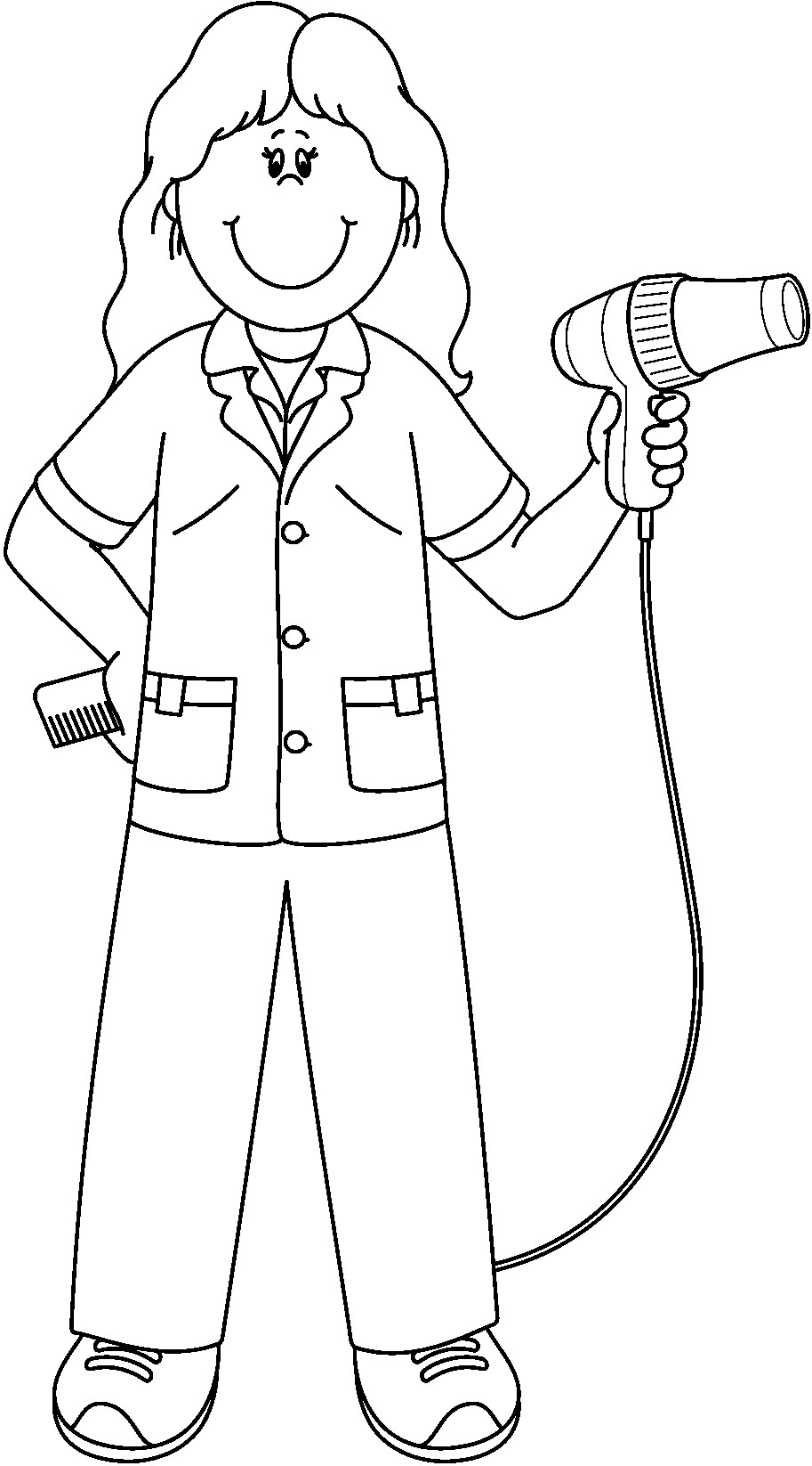 913x1646 New Community Helpers Coloring Sheets Page