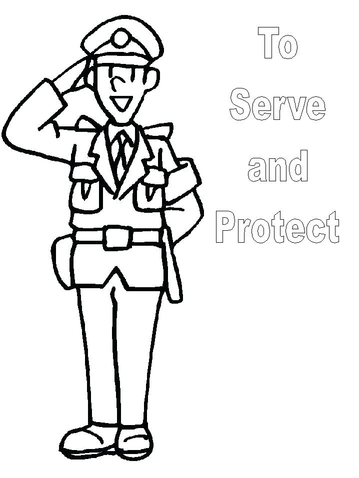 Community Helpers Coloring Pages At Getdrawings Free Download