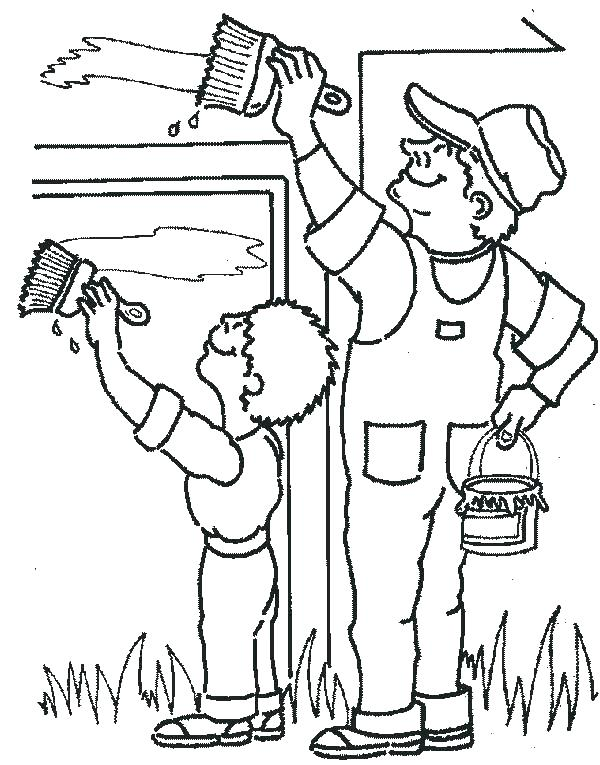 600x765 Community Coloring Pages Community Helpers Coloring Police Hat