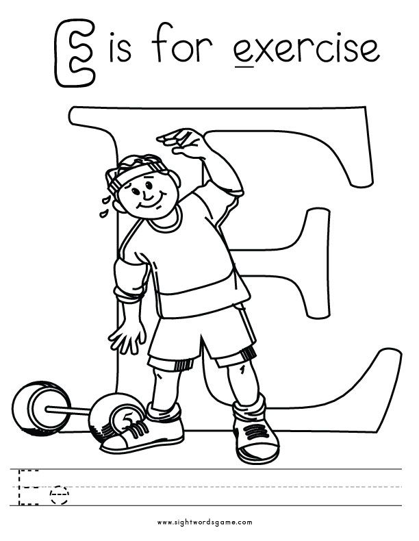 612x790 Letter E Coloring Page Kids Learning, Teaching, Homeschool
