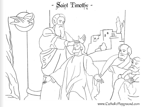 547x408 Saints Coloring Pages Catholic Playground