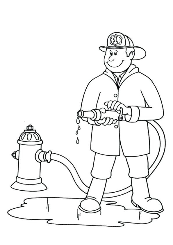 595x842 Community Helpers Coloring Pages Print Coloring Image Community